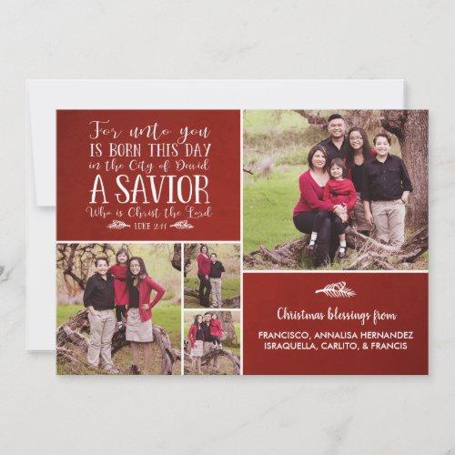 Christian Christmas Verse Typography Holiday Photo