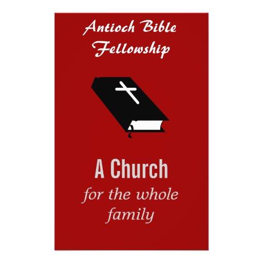 """Christian Church Flyer - Customizable"""