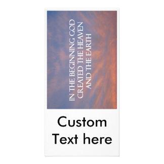 Christian Church Invitation Customized Photo Card