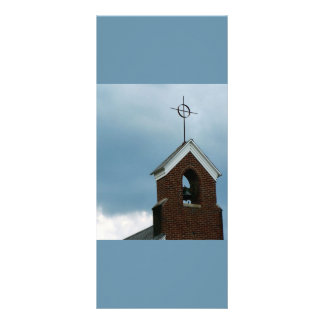 Christian Church Steeple Rack Card Design
