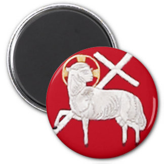 CHRISTIAN CHURCH SYMBOLS-LAMB OF GOD MAGNET