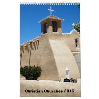 Christian Churches 2015 Wall Calendar