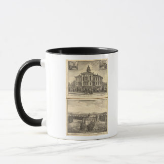 Christian College and Pacific Methodist College Mug