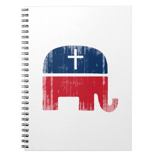 Christian Conservative Faded.png Notebooks