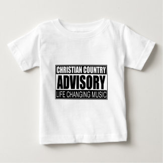 Christian Country Advisory... Baby T-Shirt