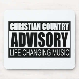 Christian Country Advisory... Mouse Pad