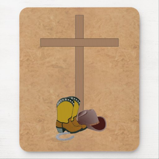 Christian Country Western MOUSEPAD