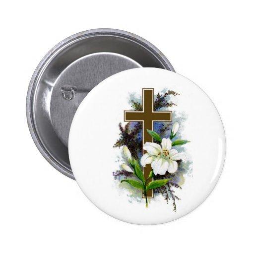 Christian Cross 2 Pin