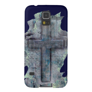 christian cross abstract design on cell phone case galaxy s5 cover