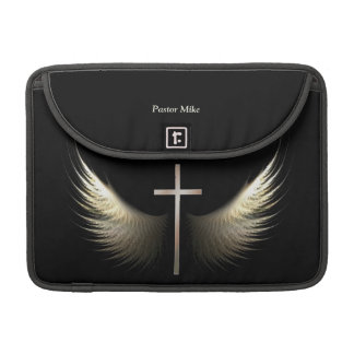 Christian Cross and Holy Spirit Personalize Custom Sleeves For MacBook Pro