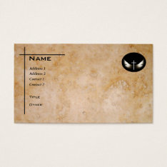 Christian Cross And Spirit Custom Personalized Business Card at Zazzle