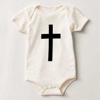 """CHRISTIAN CROSS"" BABY BODYSUIT"