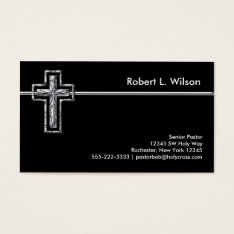 Christian Cross Business Cards at Zazzle