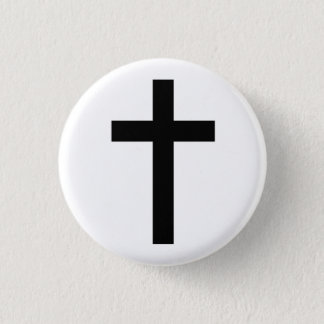 """CHRISTIAN CROSS"" BUTTON"