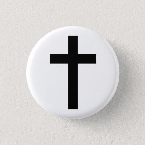 """""""CHRISTIAN CROSS"""" BUTTON"""