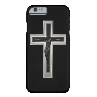 Christian cross barely there iPhone 6 case