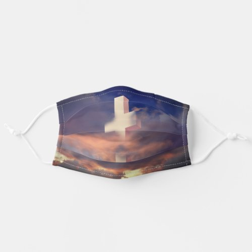 Christian Cross Cloth Face Mask
