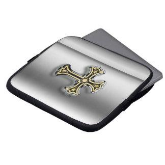 Christian Cross Computer Sleeve