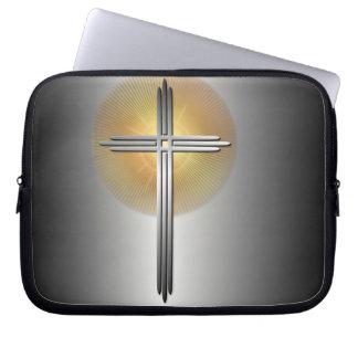 Christian Cross Computer Sleeves