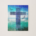 Christian Cross Contemporary  art Puzzles