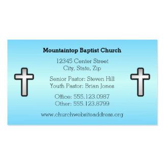 Christian Cross Custom Business Cards