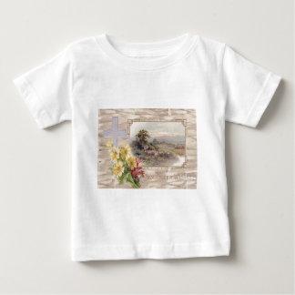Christian Cross Daisy Sheep Shepherd Baby T-Shirt