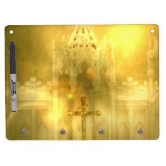 Christian Cross Dry Erase Board