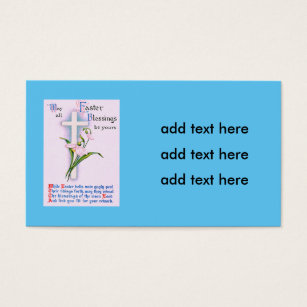 Christian poems easter gifts on zazzle christian cross easter lily poem negle Images