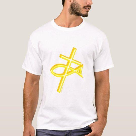 Christian Cross Fish T-Shirt