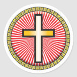 Christian Cross Icon Stickers