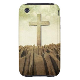 Christian Cross iPhone 3 Tough Cases
