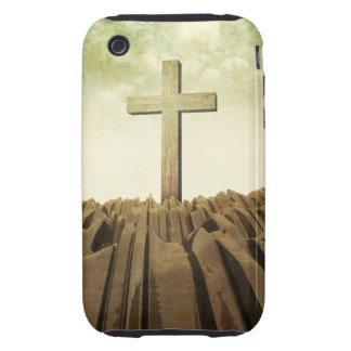Christian Cross iPhone 3 Tough Cover