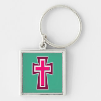 Christian Cross Keychain