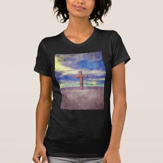 Christian Cross Landscape T-Shirt