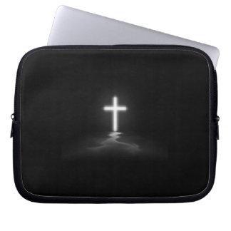 Christian Cross Laptop Sleeves