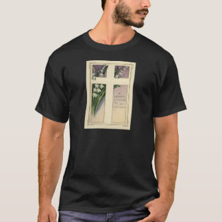 Christian Cross Lily Of The Valley T-Shirt