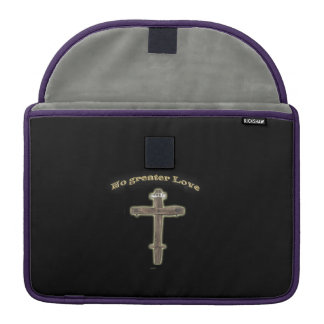 Christian cross sleeve for MacBook pro