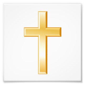Christian Cross Photo Print