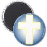 Christian Cross Refrigerator Magnet