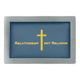 Christian Cross Relationship Belt Buckle