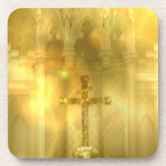 Christian Cross  Set of Six Coasters