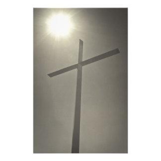 Christian Cross Stationery