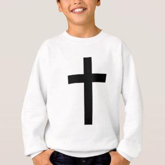 """CHRISTIAN CROSS"" SWEATSHIRT"