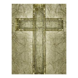 Christian Cross Symbol Artwork Customized Letterhead