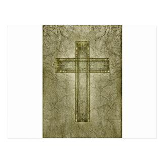 Christian Cross Symbol Artwork Postcards