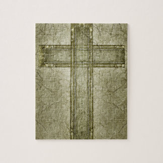 Christian Cross Symbol Artwork Puzzle