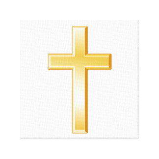 Christian Cross Symbol Canvas Print
