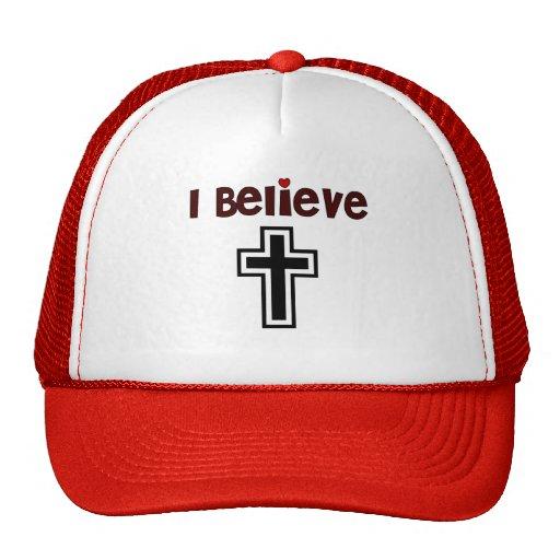 Christian Cross Trucker Hats
