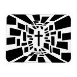 Christian Cross Vinyl Magnets