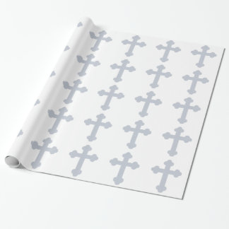 Christian Cross Wrapping Paper